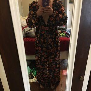 Medium floral jumpsuit/Maxi